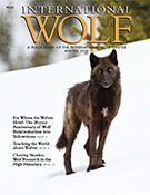 International Wolf Magazine Winter 2015