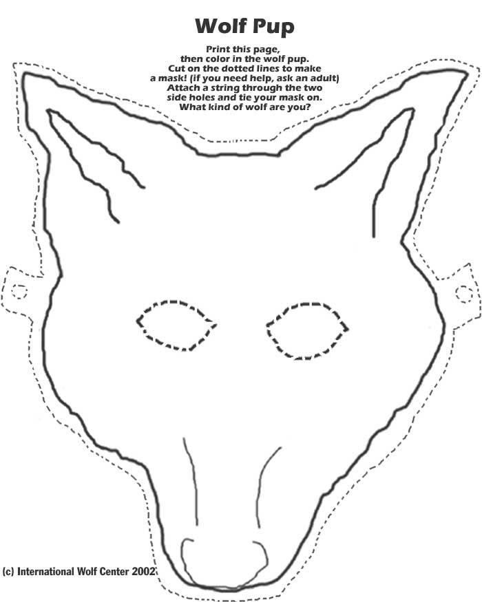 Wolf Mask | International Wolf Center