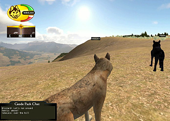 Wolf Quest Screen