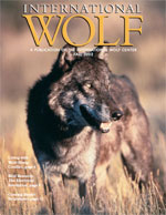 International Wolf Magazine - Fall 2002