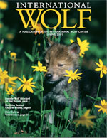 International Wolf Magazine - Spring 2001