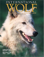 International Wolf Magazine - Spring 2002