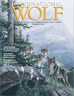 International Wolf Magazine - Summer 2001