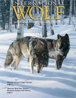 International Wolf Magazine - Winter 2001