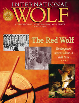 International Wolf Magazine - Winter 2007
