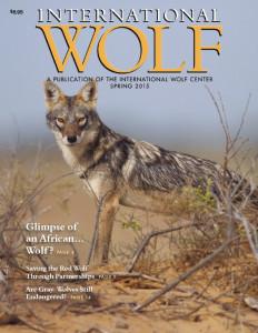 International Wolf Magazine Spring 2015